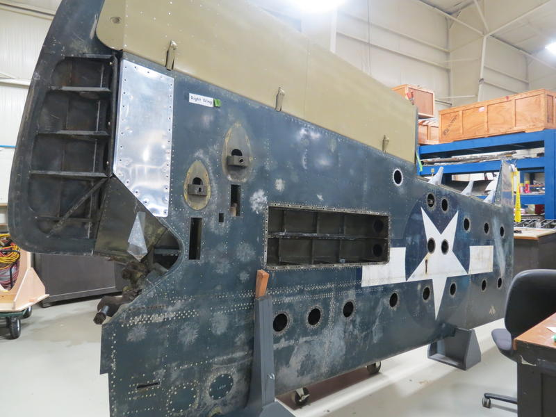Another wing of the FM-2 Wildcat
