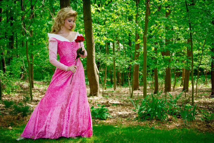 Kathryn Morton Parker as Aurora in Sleeping Beauty