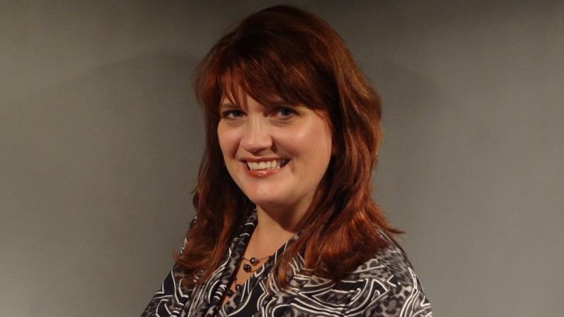 Carrie Vanderbush, the new executive director of Glass Art Kalamazoo