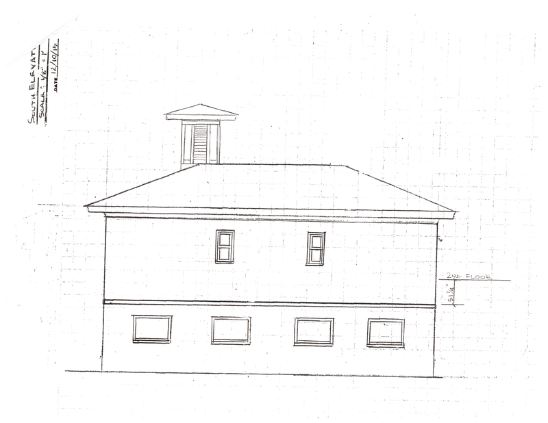 Blueprint of the school (continued)