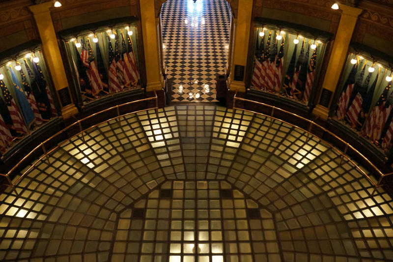 State Capitol Rotunda - file photo by Cheyna Roth, Michigan Public Radio Network