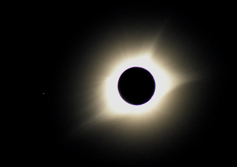 The moment of totality near Bonne Terre, Missouri