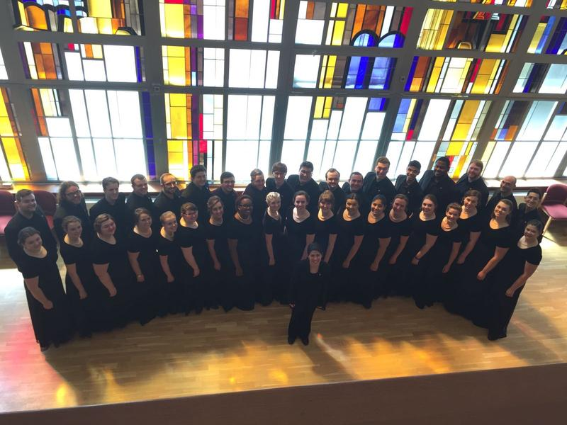 University Chorale at Kaunas Cantat