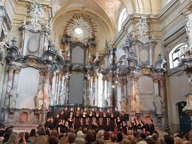 University Chorale at the Church of St. Catherine, Vilnius, Latvia