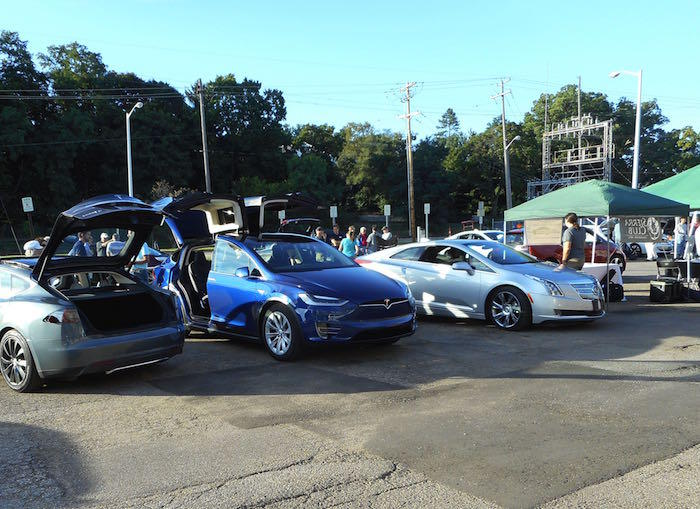 National Drive Electric Week in Kalamazoo, 2016
