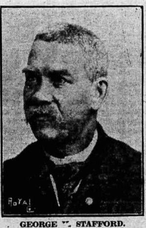 George Stafford might have been the first Kalamazoo victim of the 1918 flu. He died that year on April 28.