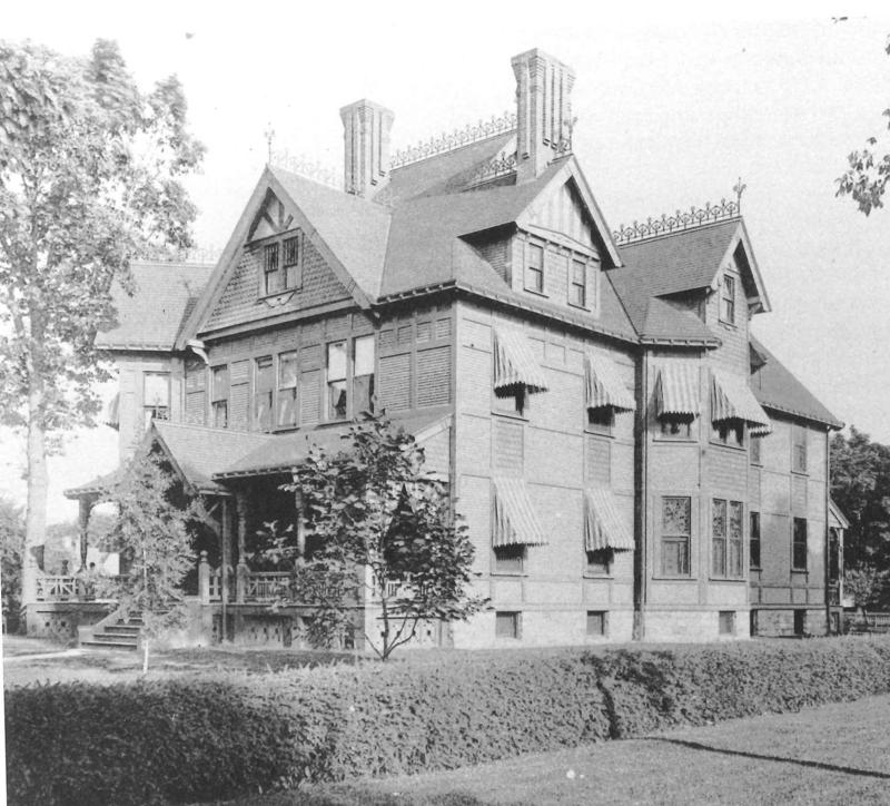 Stockbridge-Everard House was used as an emergency hospital duriing the epidemic.