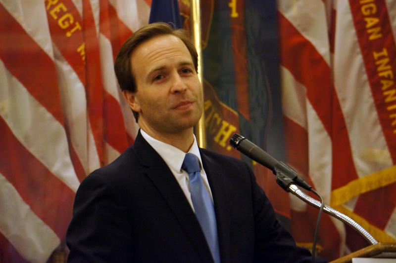 Lt. Governor Brian Calley - file photo