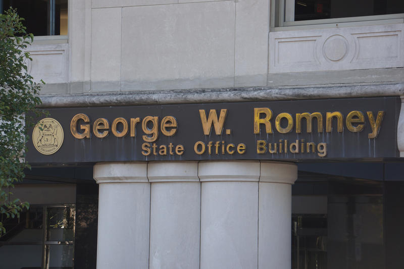 Romney Office Building in Lansing
