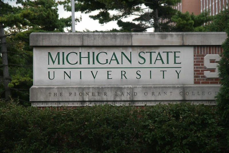 Sign on the Michigan State University Campus, Branislav Ondrasik, Wikimedia Commons