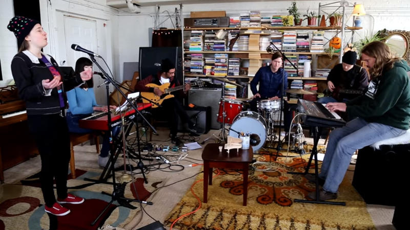 A still from Samantha Cooper's Tiny Desk video