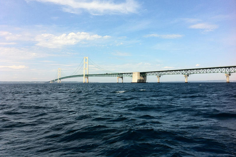 Straits of Mackinac - file photo