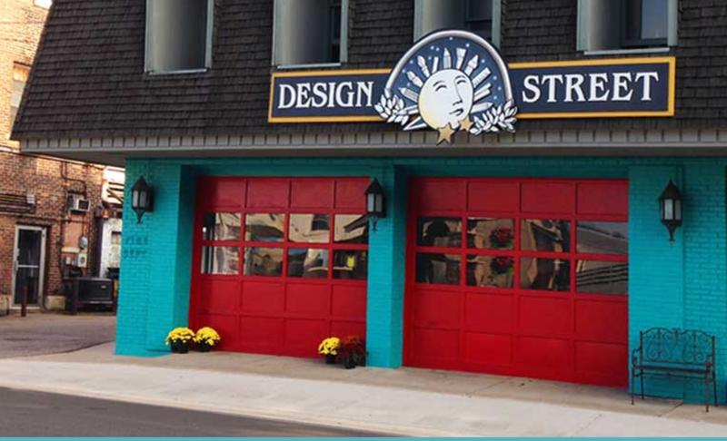 The Design Street building in Plainwell (Photo by Adam Hopkins)