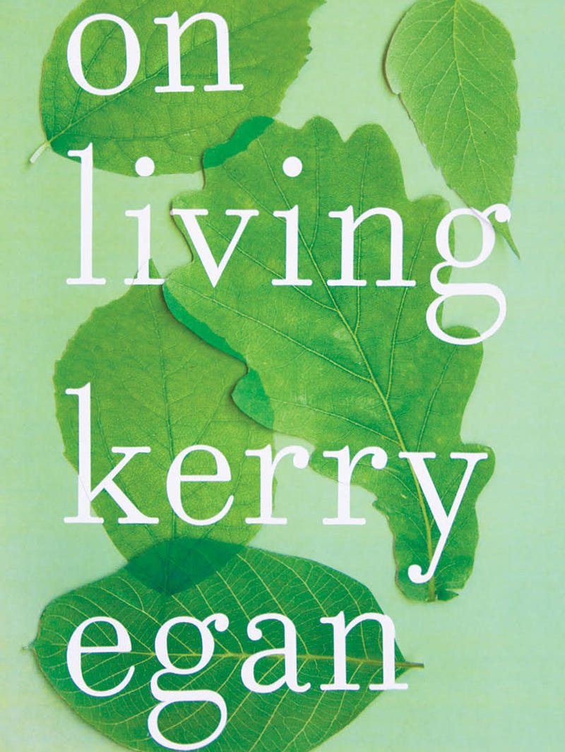 Cover of the book On Living by Kerry Egan