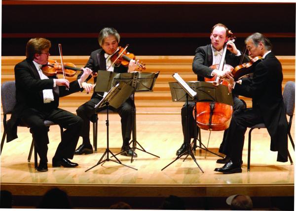 The Tokyo Quartet in performance