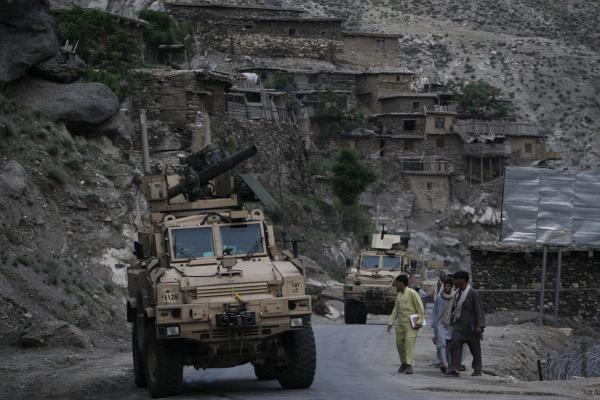 US Army patrol in Kunar Province in 2009