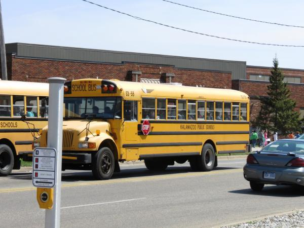 Kalamazoo school bus - file photo