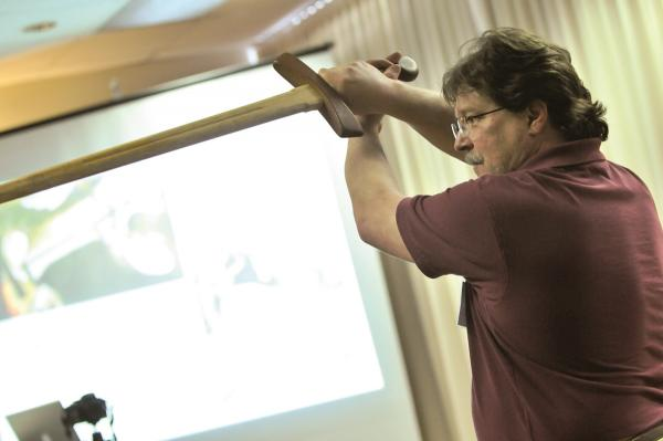 Broadsword demonstration at the 2011 Congress