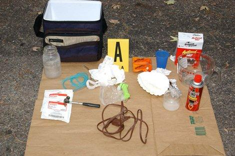 Meth products - file photo