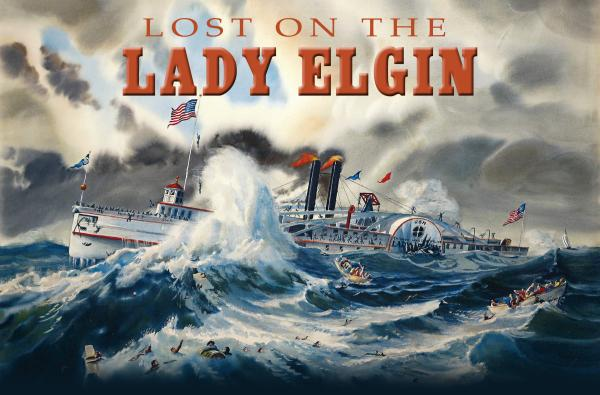"The cover of ""Lost on the Lady Elgin"" by Valerie van Heest"