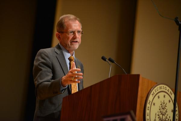 WMU President John Dunn