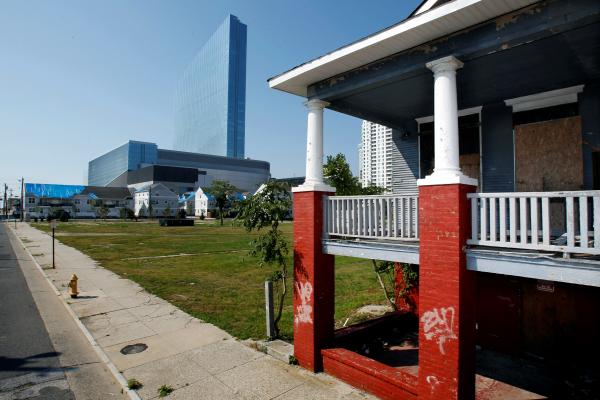 Home in Atlantic City, New Jersey - file photo