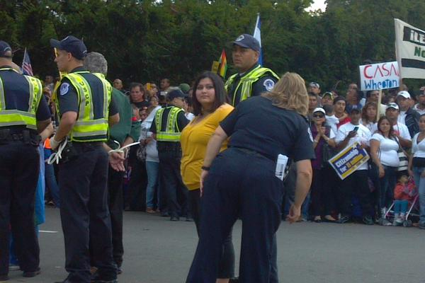 Wendy Medrano arrested Tuesday in Washington D.C.