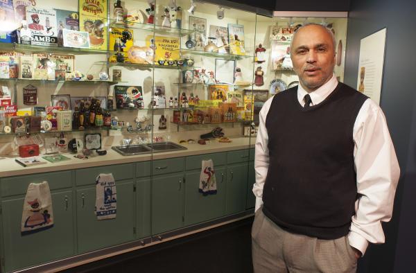David Pilgrim in the Museum of Racist Memorabilia