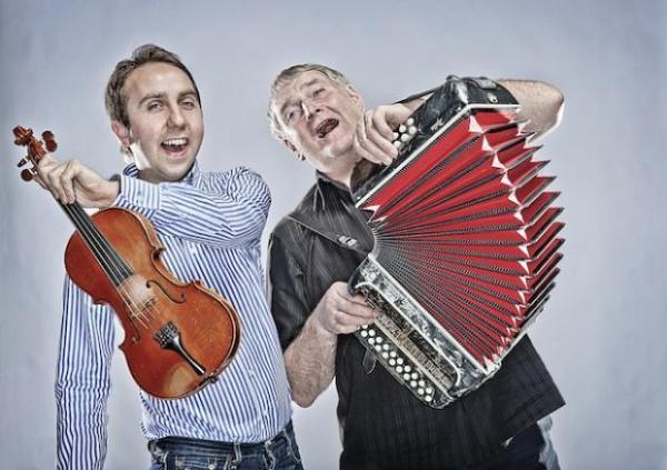 Seamus Begley (left) and Oisín Mac Diarmada (right)
