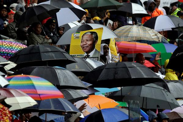 Nelson Mandela's memorial service Tuesday in Soweto, South Africa