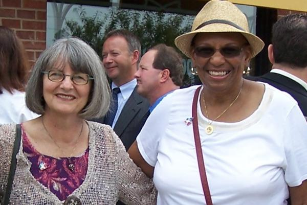 Pam Kingery (left) and Carolyn H. Williams