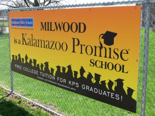 Teresa Bingman says the Kalamazoo Promise can be one tool to help get people out of poverty