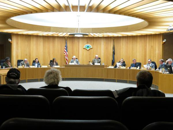 The Kalamazoo County Commission voted on the retiree system changes at its Feb. 4 meeting.