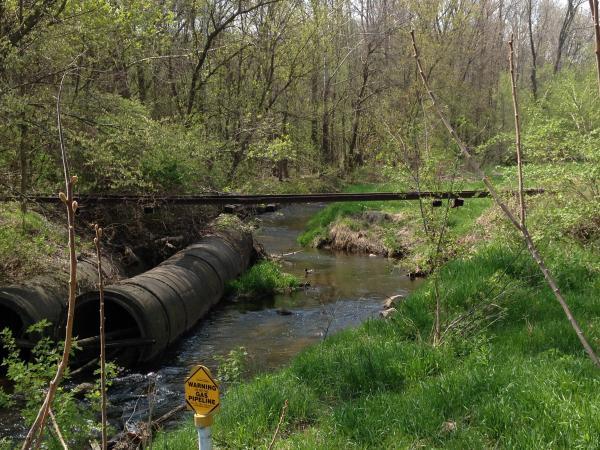 Davis Creek at I-94 Business Loop