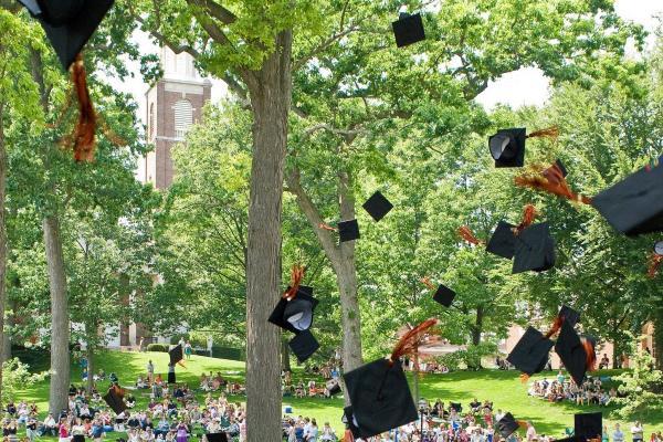 Kalamazoo College graduation file photo