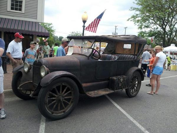 Last year, a 1919 Studebaker was on display at the Vicksburg Old Car Festival. One can only guess what will be on view at this year's festival, taking place on June 13 and 14.