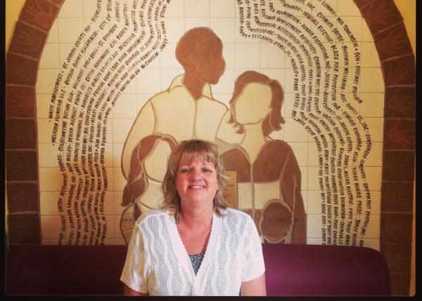 Keystone Shelter Director Kelli Tackett