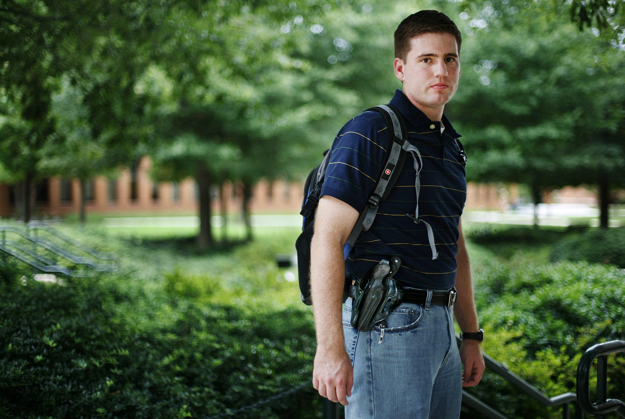 guns on college campus It's about time for texas' guns on campus law let alone on college campuses the university of texas also forbade the carrying of guns on campus, except with special permission when the attack started, though.