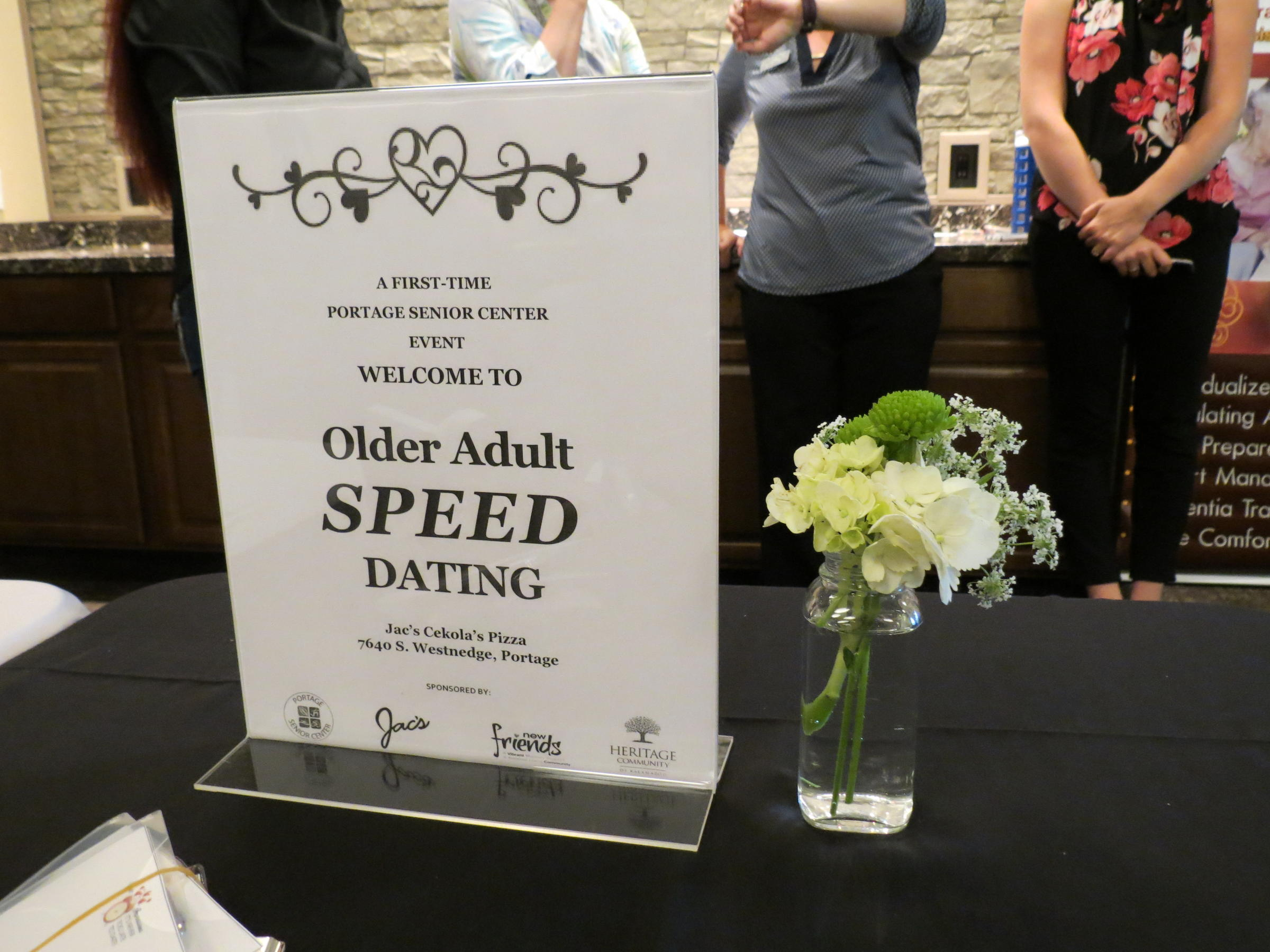 Speed dating over 60