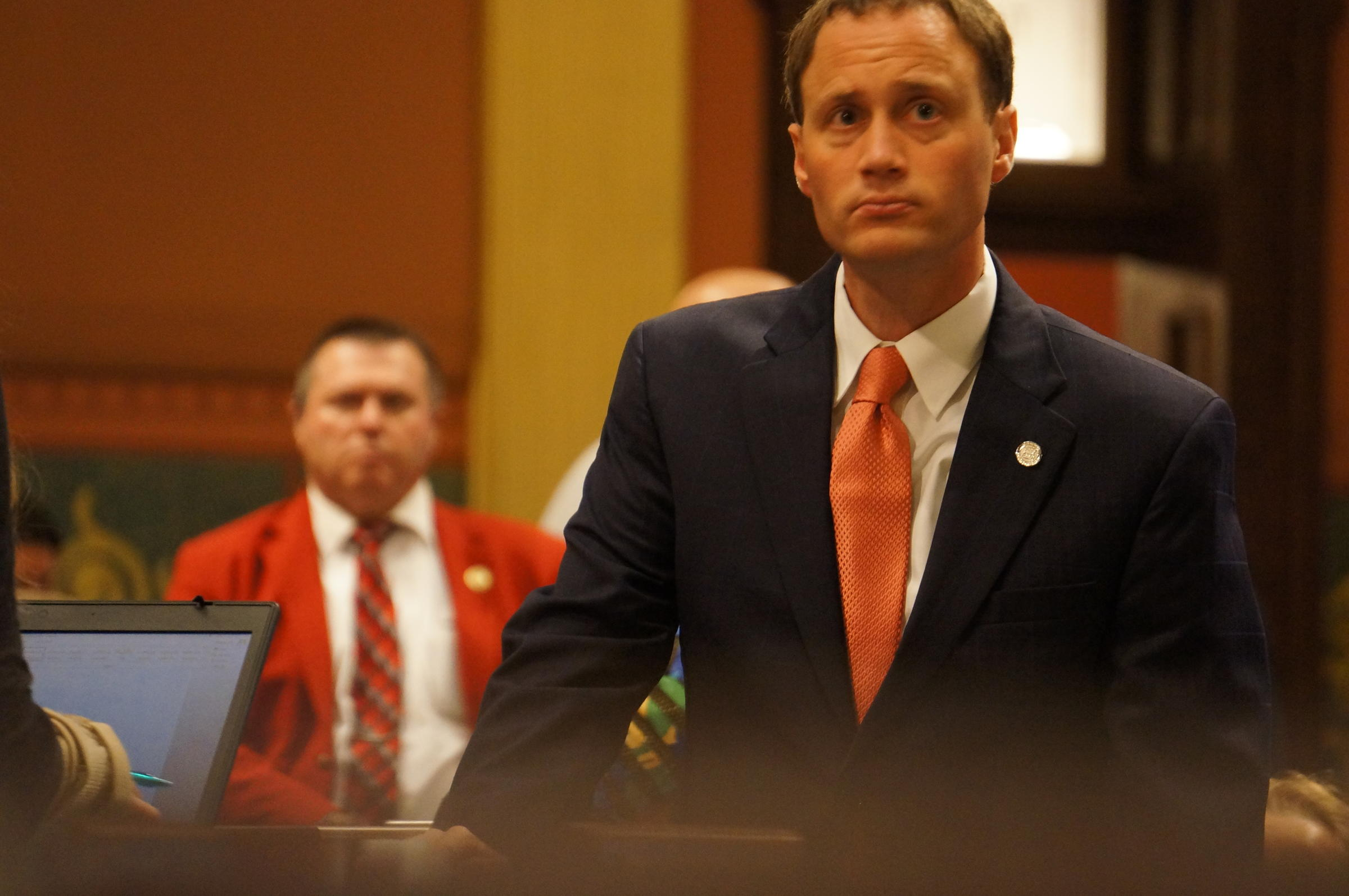 Michigan House Speaker Leonard Wants MSU President Simon To Step Down