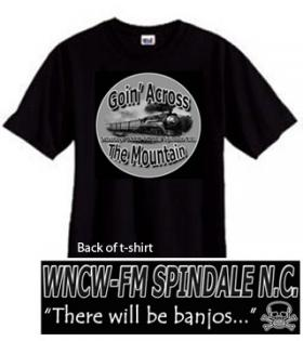 Goin Across the Mountain Logo T shirt
