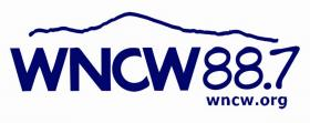 WNCW Blue Logo Sticker