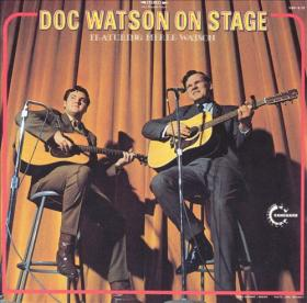 Doc Watson on stage