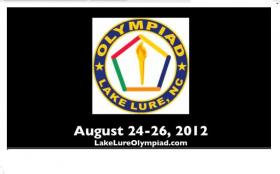 Lake Lure Olympiad Logo