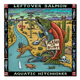 Leftover Salman Aquatic Hitchhiker Album Art