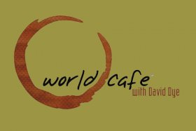 World Cafe Logo with david Dye