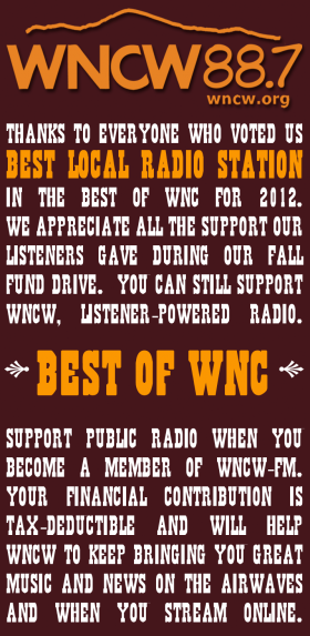 Best of WNC Thank you from WNCW