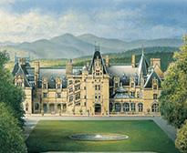 Painting of the biltmore house