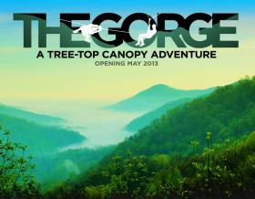 The Gorge treetop canopy adventure