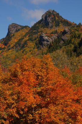 Grandfather Mountain is all dressed up for fall.